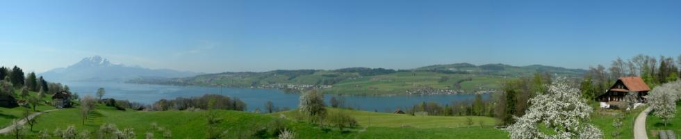 Panorama Oberfeld - Kleinhaus