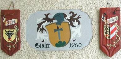 Gisler Wappen